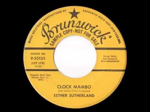 Esther Sutherland - Clock Mambo