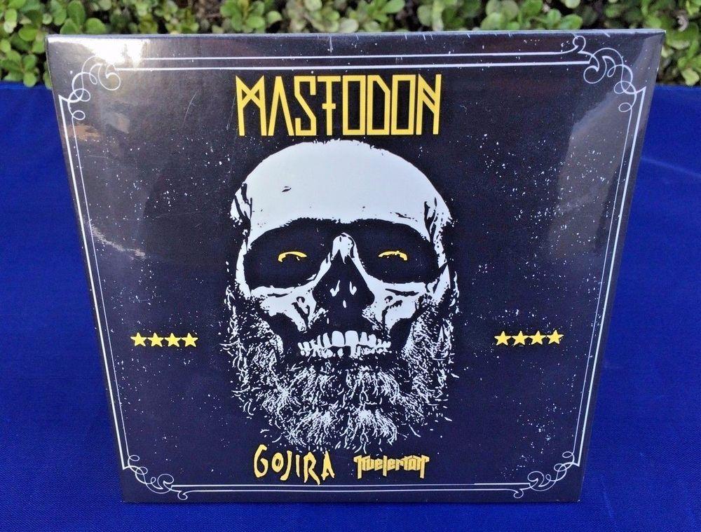 Mastodon Gojira Kvelertak 2014 Tour Sampler CD [3 Live Songs] Reprise Roadrunner #StonerMetal