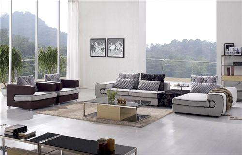 Lizza 5-Pieced Living Room Set Mobilya Pinterest Room set and