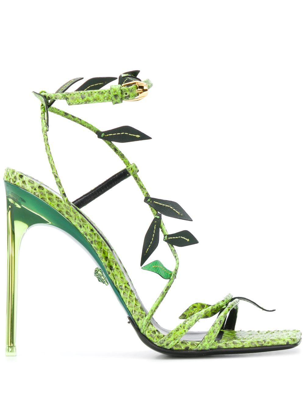 Versace 110mm snakeskin-effect Leaf