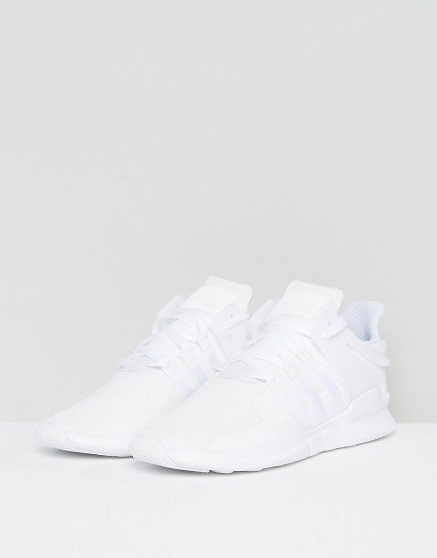 Adidas Originals Eqt Support Adv Sneakers In White Cp9558 White