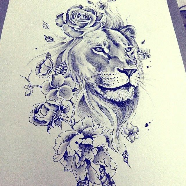 Photo of Masculine, yet feminine too! Would make a great shoulder tattoo!