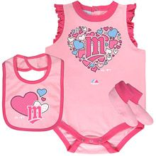 Minnesota Twins Newborn Triple Play 3 Piece Set by Majestic Athletic
