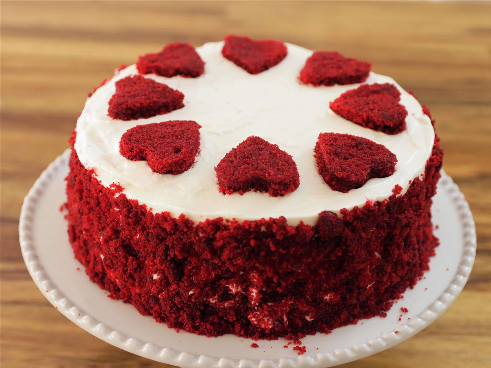 red velvet cake design recipe Red Velvet Cake