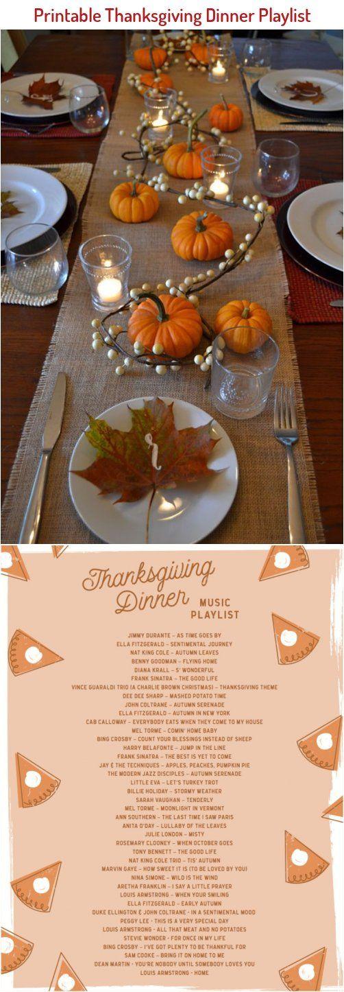 Printable Thanksgiving Dinner Playlist Let S Mingle Blog In 2020 Thanksgiving Printables Thanksgiving Dinner Holiday Decor Thanksgiving