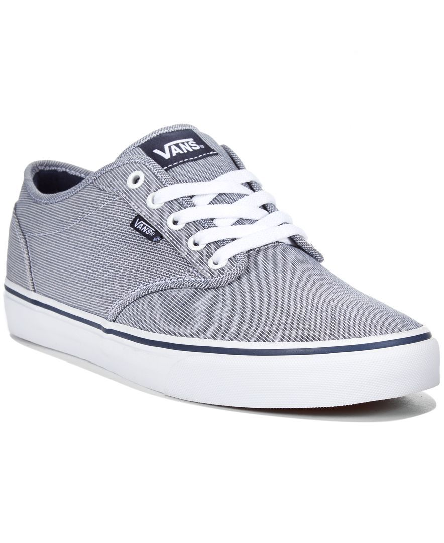 Vans Men's Atwood Textile Sneakers | Sneakers, Shoes, Vans