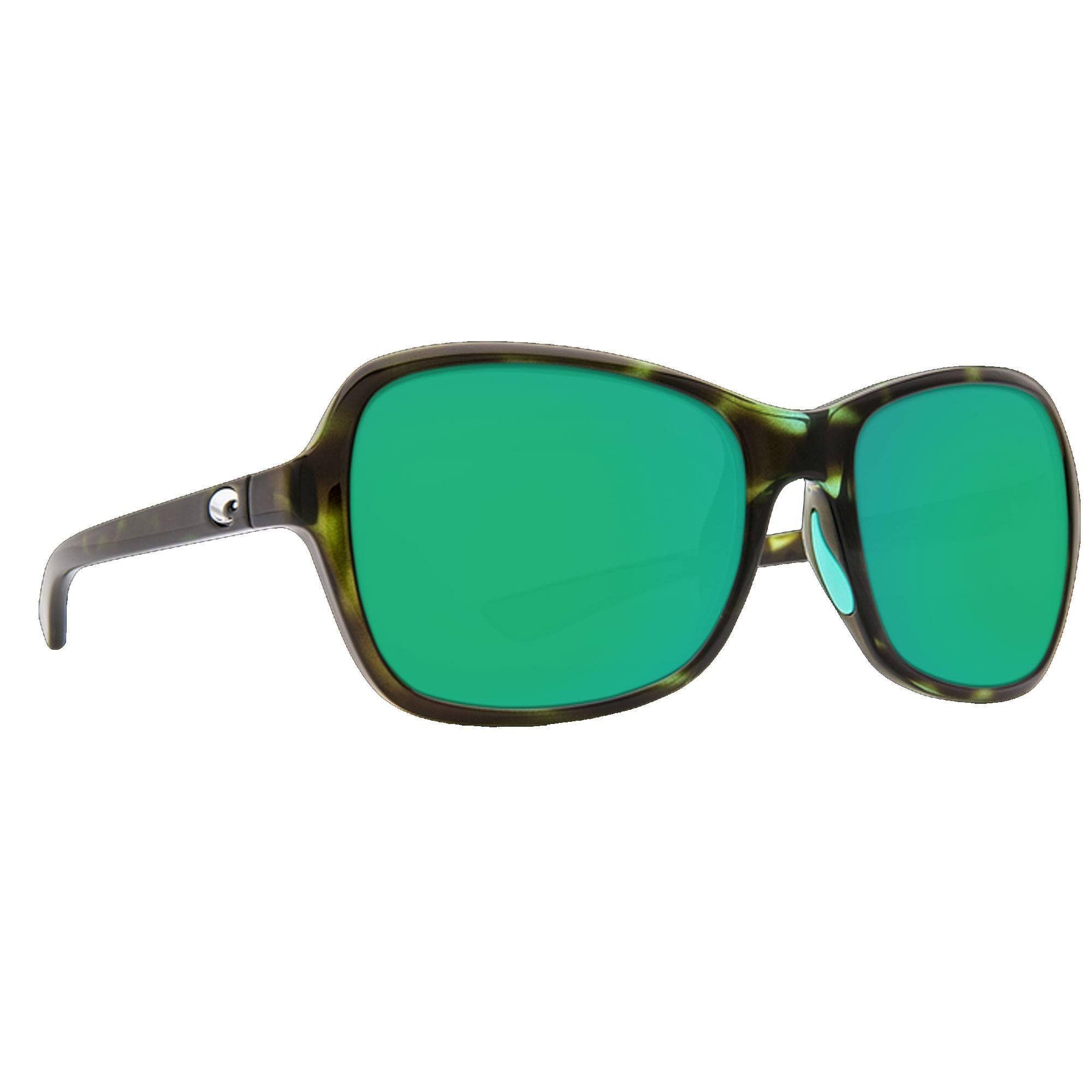 fcab4d8be20 Costa Shiny Kiwi Tortoise Green Mirror Kare 580P Sunglasses