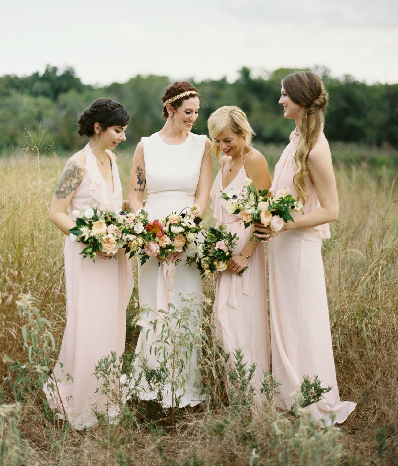 Dallas audubon center wedding elizabeth ryan green weddings dallas audubon center wedding elizabeth ryan blush bridesmaid dresseswedding ombrellifo Image collections