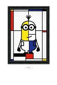Piet Mondrian minion