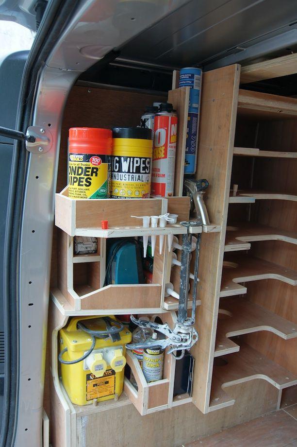 Van Racking Thisiscarpentry Van Shelving Van Racking Van Organization