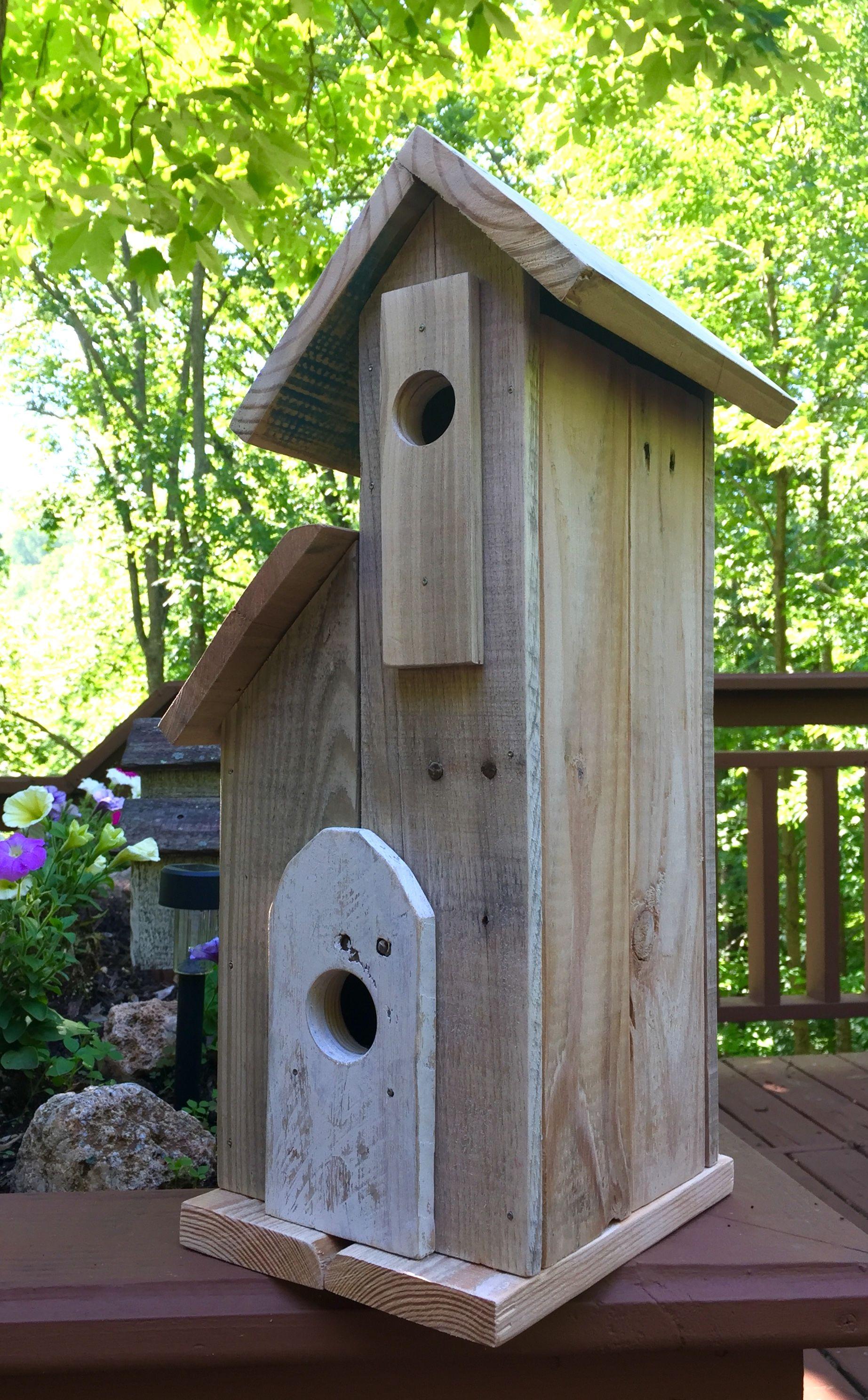 Semi Barn Style Birdhouse Design Simple Custom Handmade