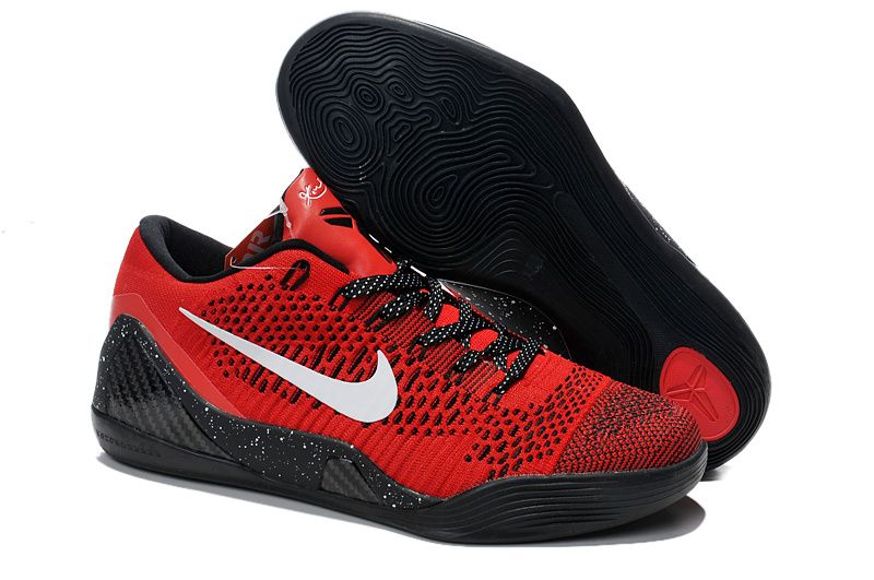 Authentic 2016 Jordans 9 By Nike Red All Black Basketball Shoe for Sale