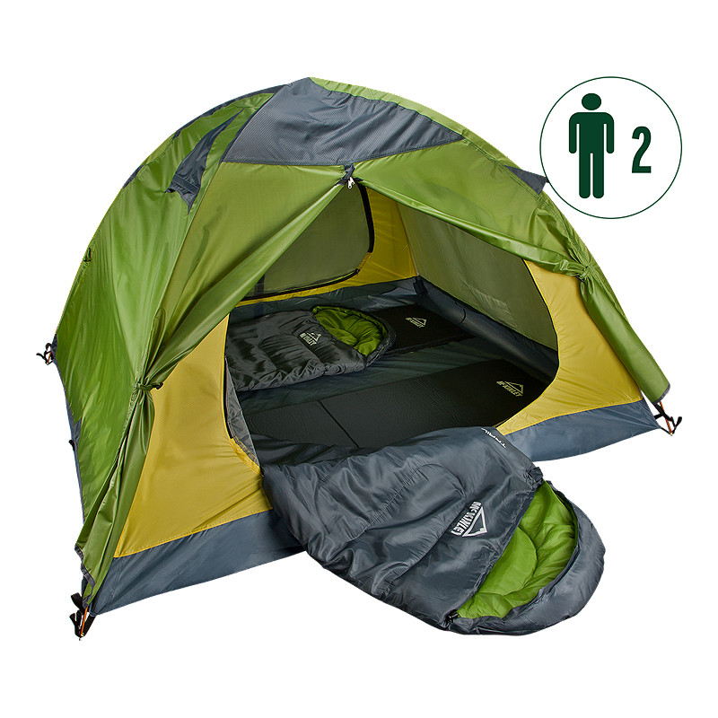 Hit the great outdoors with the McKINLEY Trail 2 Person C& Bundle. This package includes  sc 1 st  Pinterest & Hit the great outdoors with the McKINLEY Trail 2 Person Camp ...