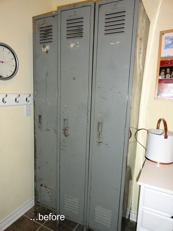 Decorating With Old Lockers Project Ideas Diy Locker
