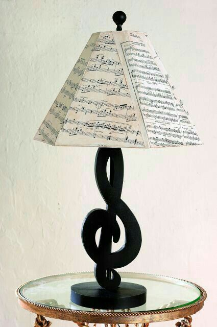 Tischlampe Musikzimmer Ideen Musik Dekor Coole Lampen