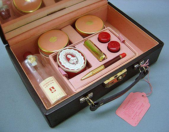 1940's Vintage RICHARD HUDNUT-Du Barry Make Up Cosmetic ...