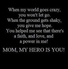 I Admire Your Strength And You Helped Me Become The Woman I Am Love Yourself Quotes I Love You Quotes Mom Quotes