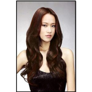 red highlights in brown hair - Google Search