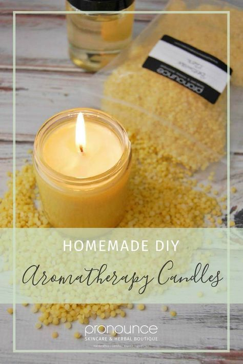 How to make DIY Aromatherapy Candles | Scratch Mommy