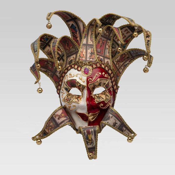 Farfalla leaves Magnificent Volto Foglie Butterfly Genuine Venetian Masks