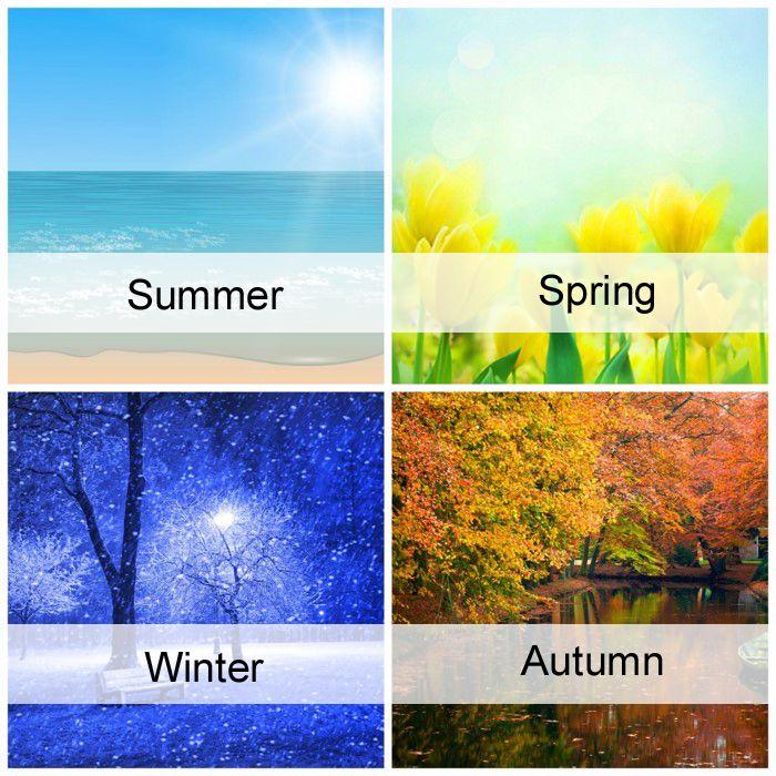 4 Seasons. | The Seasons in 20...
