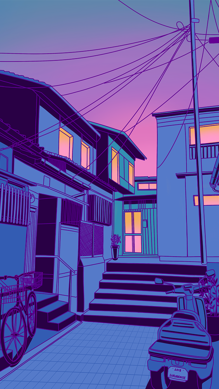 Pastel Japan by surudenise Aesthetic pastel wallpaper
