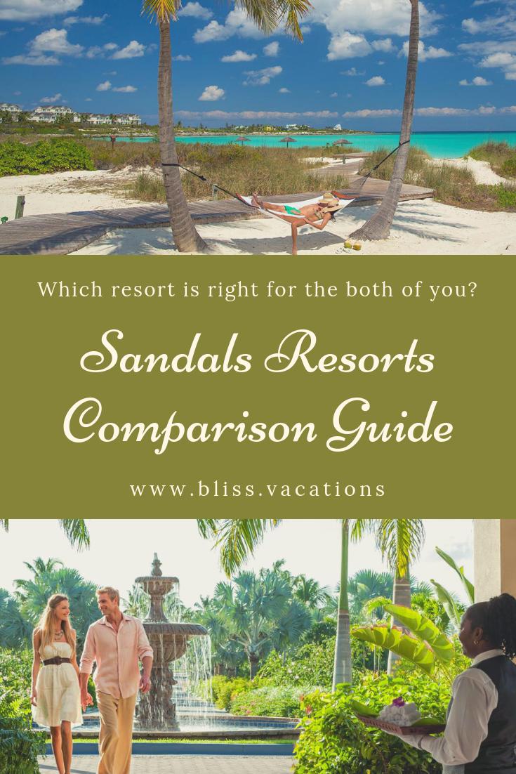 Sandals resorts, Best sandals resort