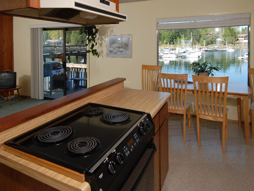 Condo vacation rental in inside passage from