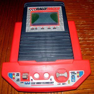 $39.95.  1989 VTech Talking Rally Racer (Vintage Table-Top LCD Video Game)
