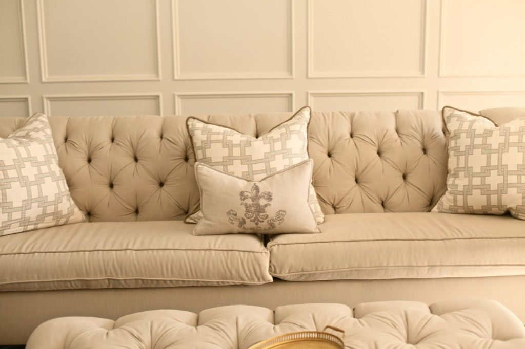 Upholstery is a work of providing padding, fabrics, spring