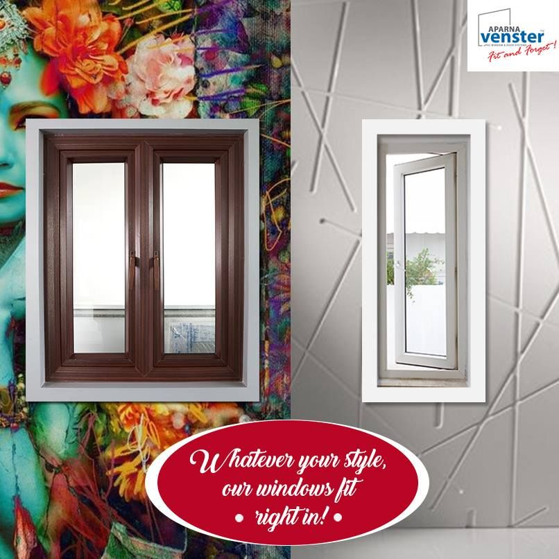 Do you like bold colours or simple modern styles? Our windows will fit in anywhere! Visit us at www.aparnvenster.com today!