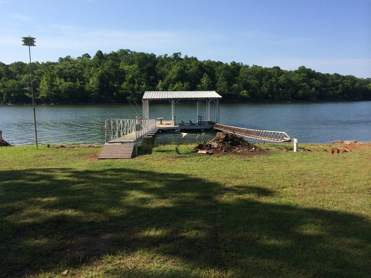 The Boat Dock On Grand Lake Of The Cherokees Lake House