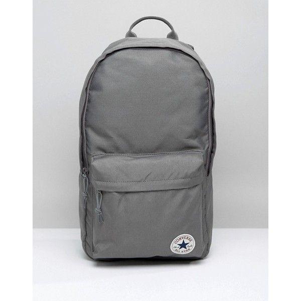 grey converse backpack