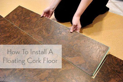 How To Install A Floating Cork Floor | Corchos y Suelos