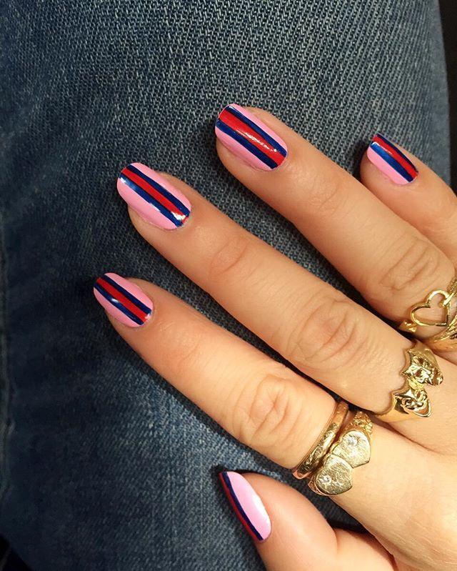 Faking long nails has never been easier.   Beauty   Pinterest   Makeup