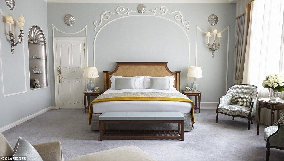 Minimalist The Royal Suite At Claridges Has Two Bedrooms And Claims To Transport Guests Grandeur Of Victorian Age