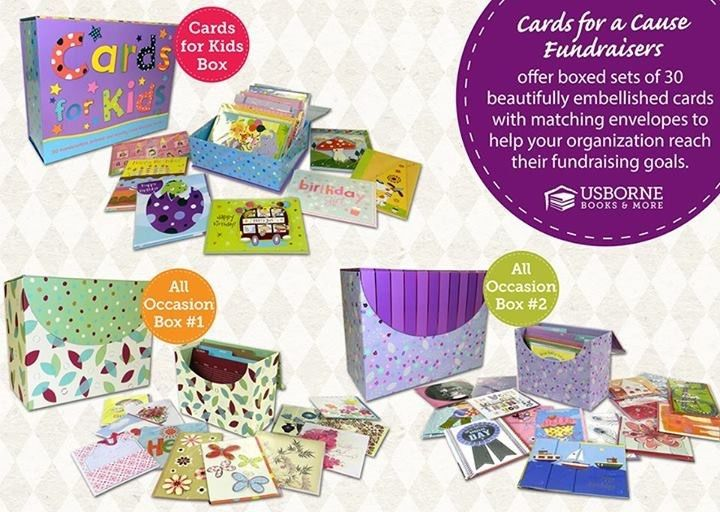 Cards for a Cause Fundraiser - Usborne Books & More