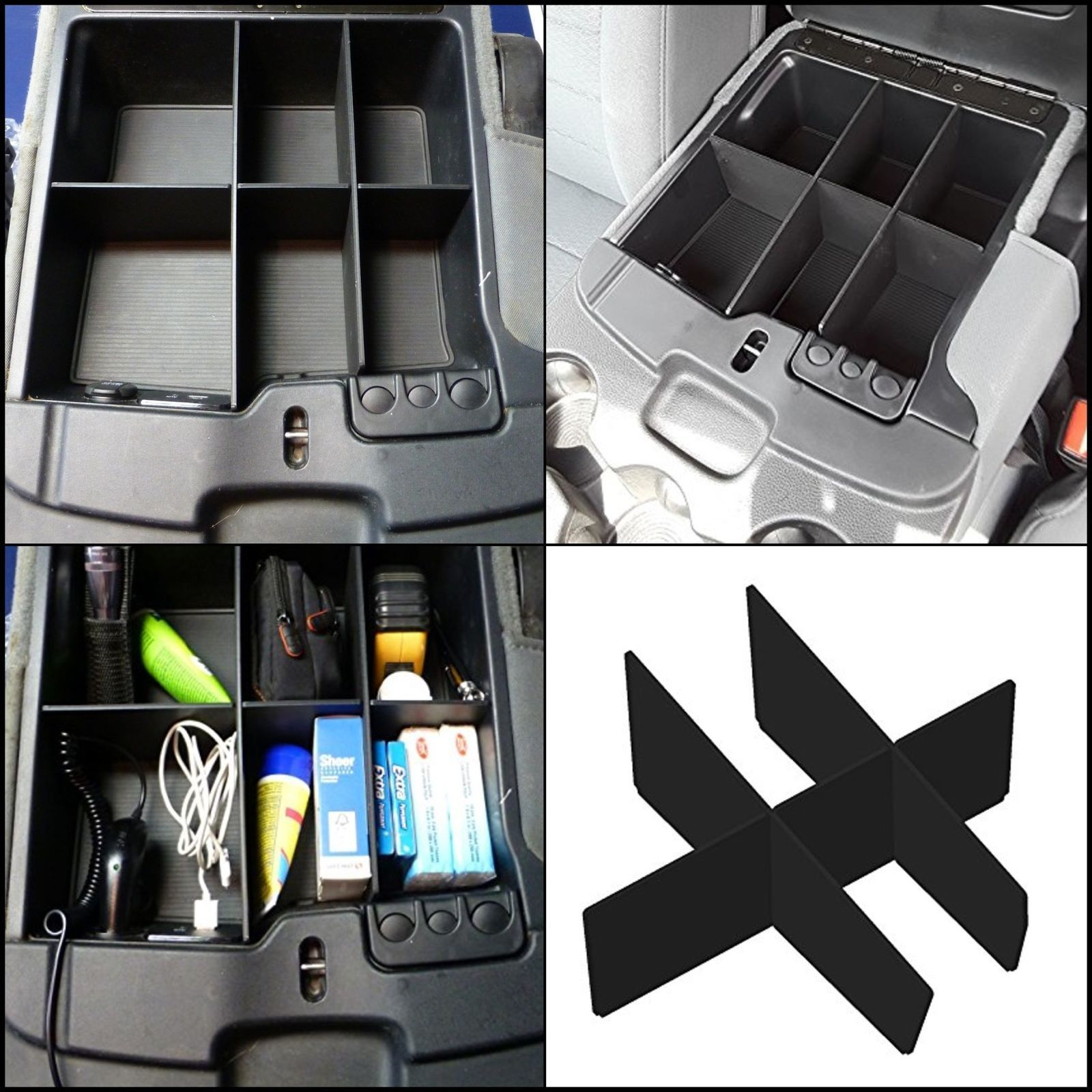 1500 Dodge Ram Accessories: Details About Center Seat Console Organizer Interior