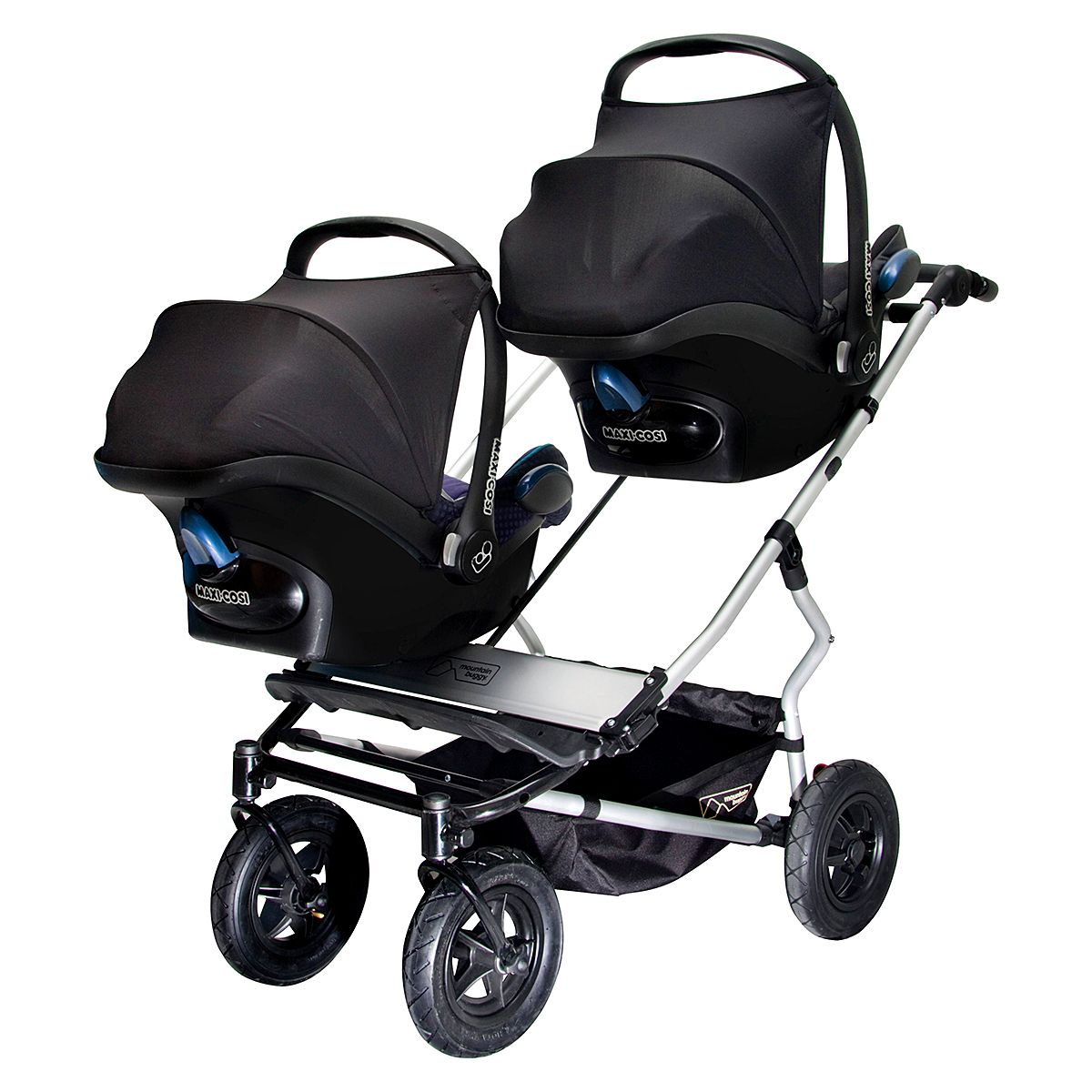 Twin Prams Travel Systems: Duet Twin Travel System Bundle / Duet Buggy Collection