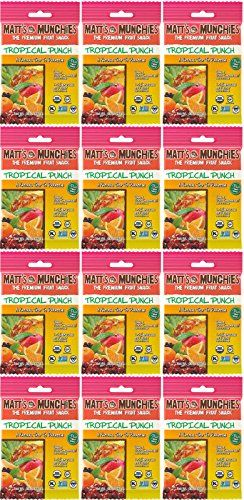 Matts Munchies Tropical Punch Organic Fruit Snack 12 Pack 1 Ounce *** You can get additional details at the image link.