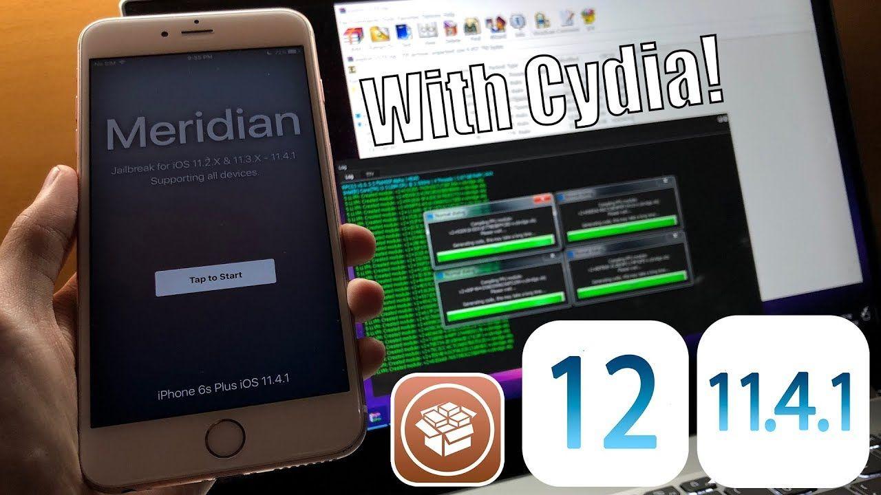 How to Jailbreak iOS 11.4.1 - 12 beta 12 NEW Meridian for ...