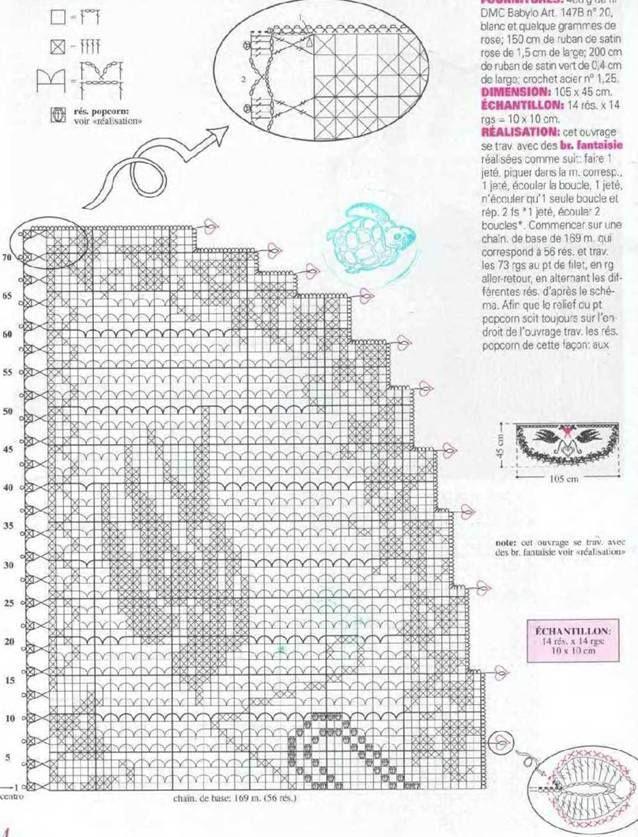 crochet curtain pattern - Häkelmuster Fundgrube: Vorhänge | Häkeln ...
