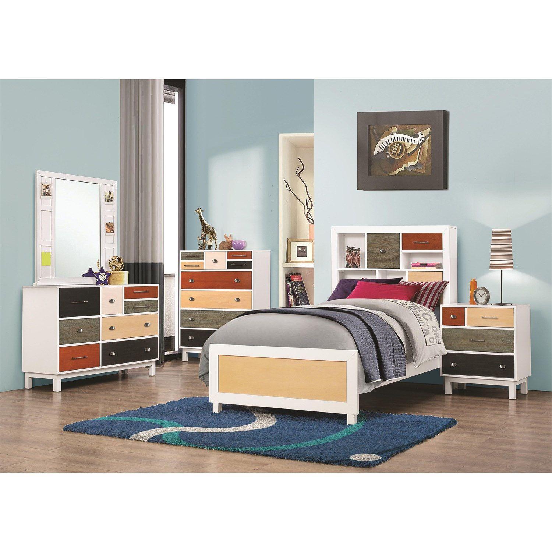 Coaster Furniture 400795 Lemoore MultiColor Chest Twin