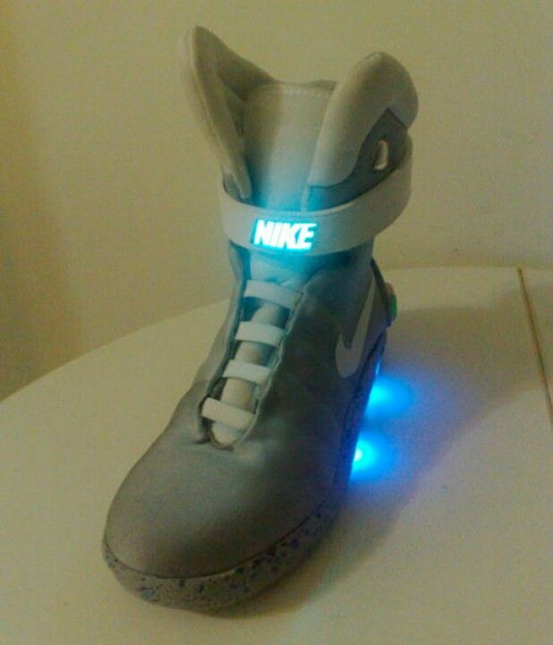 Back to the Future Marty McFly NIKE MAG #fashion #clothing ... |Nike Mag Outfit