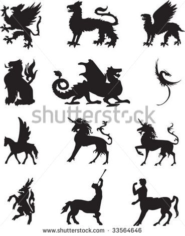 Griffin Symbol Griffin Tattoo Stock Photos Illustrations And