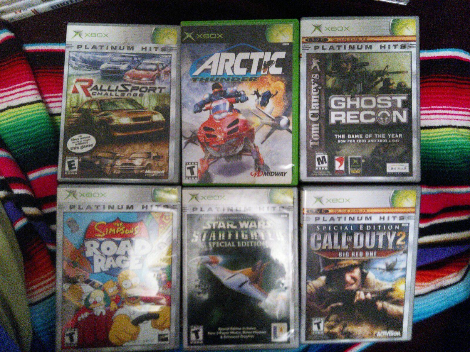 21 Original Xbox Games Arctic Thunder Project Gotham Racing