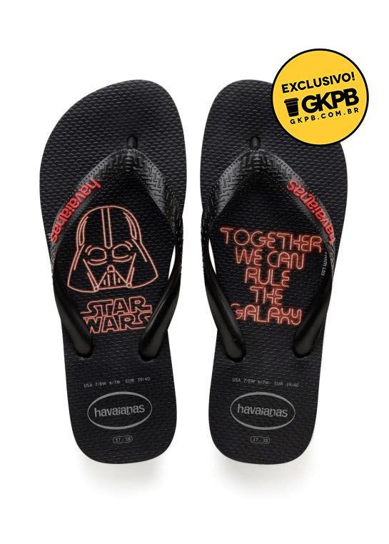 097bb4053 Havaianas apresenta novos chinelos inspirados em Star Wars, Jurassic Park e  Os Incríveis 2 - Geek Publicitário