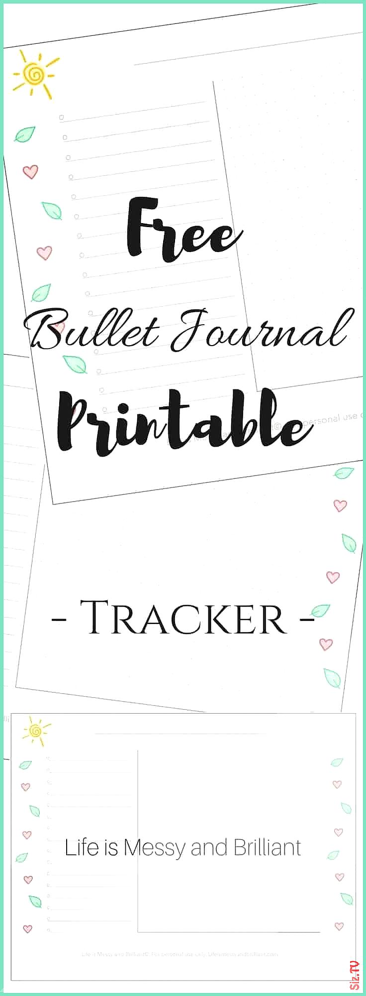 Free tracker printable Free bullet journal printables free printable bullet journal free lettering p...
