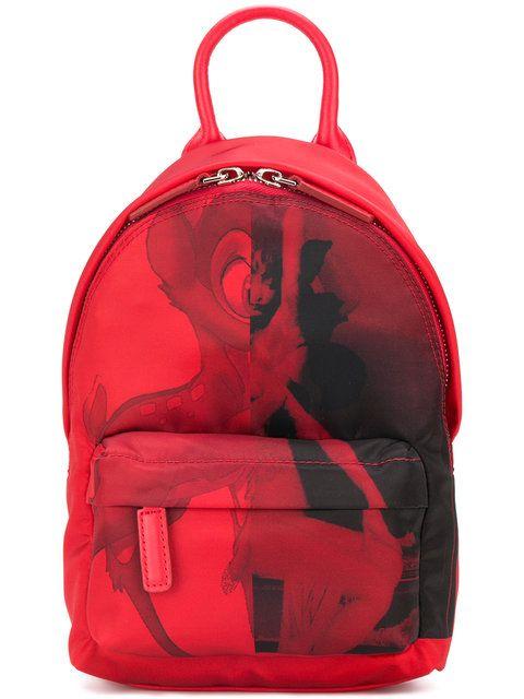 9b7b79a8b26f Shop Givenchy Bambi print mini backpack.