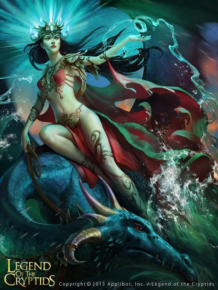 Pin by Belle Lambert on Art of Legend of the Cryptids